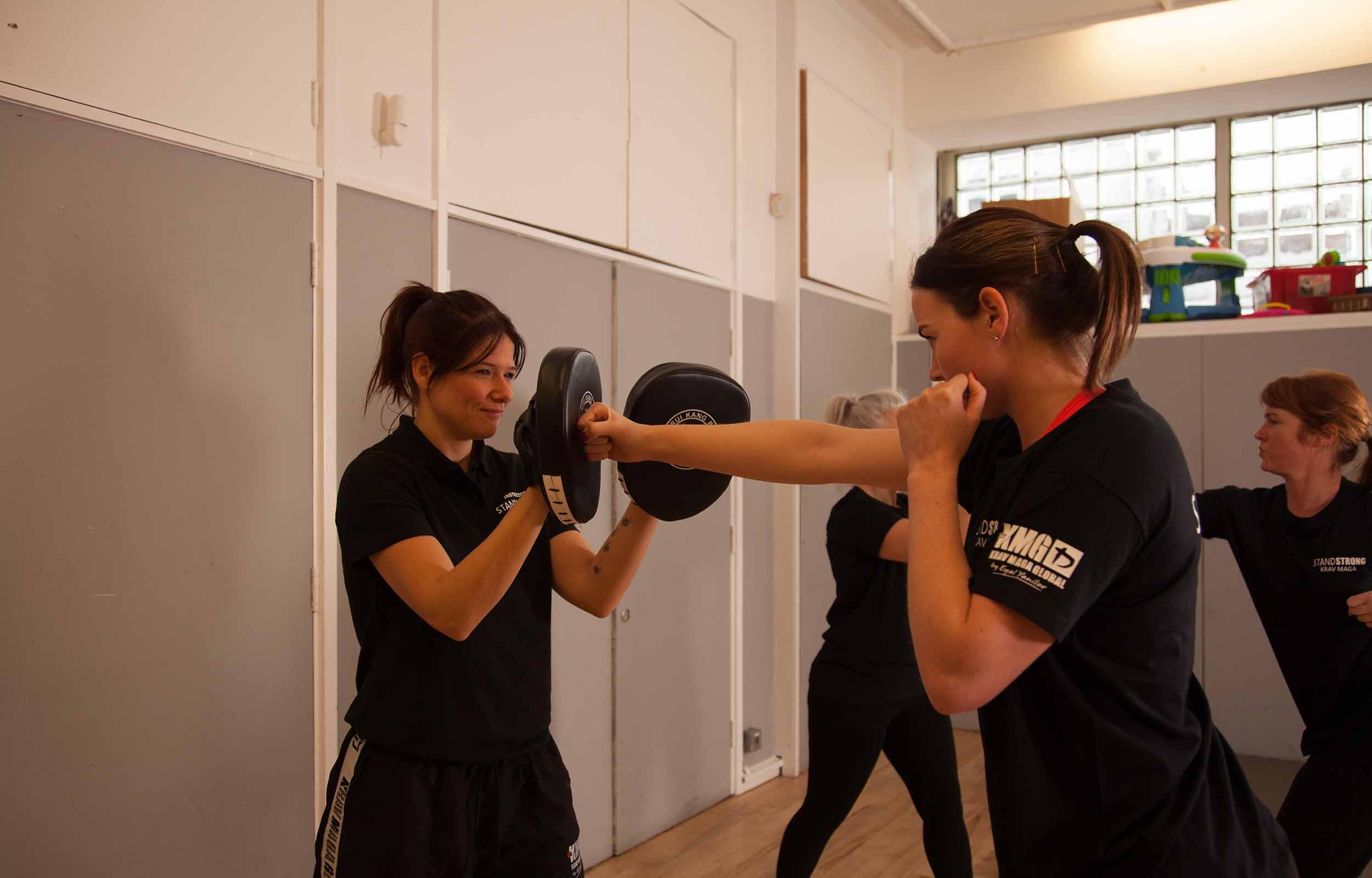 Women's Krav Maga self-defence classes in Bristol