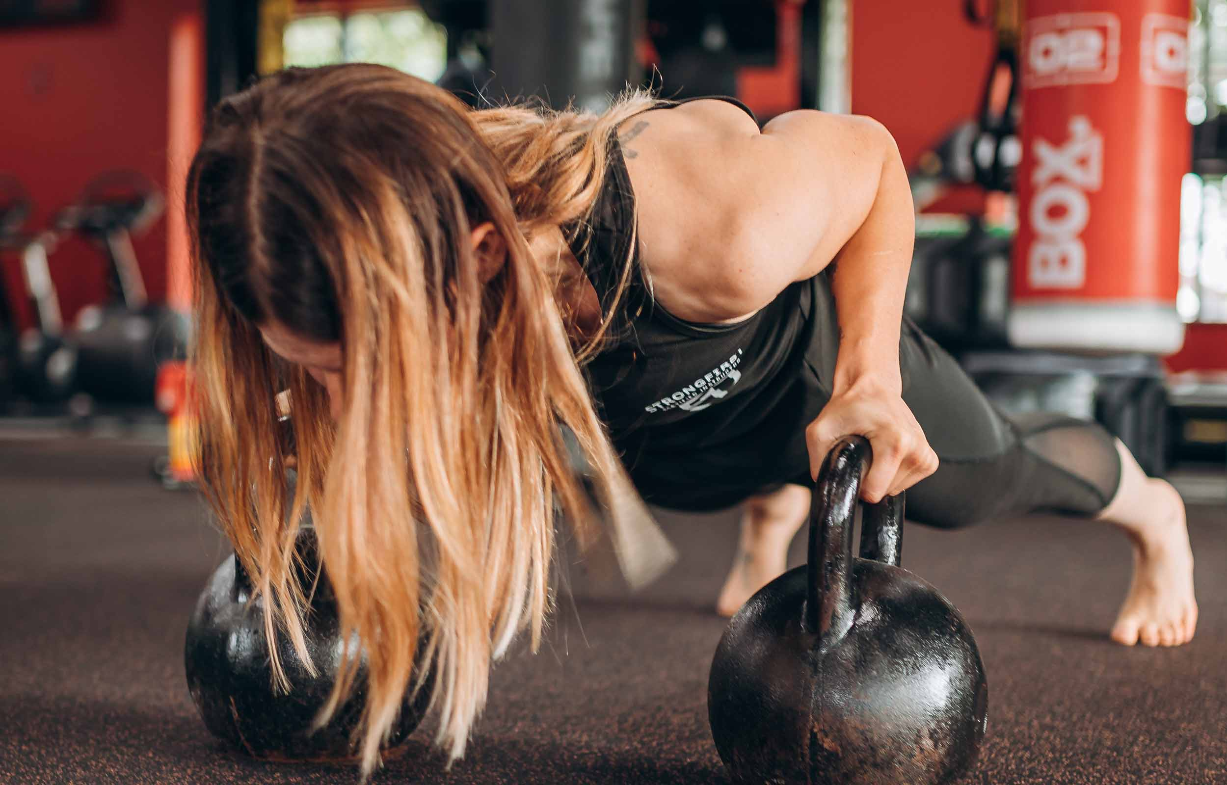 StrongFirst personal training Hannah
